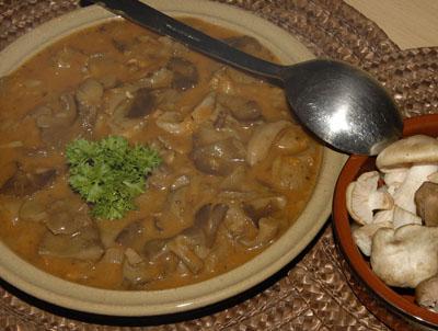 Gruntovní podtrnková polévka