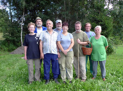Účastníci houbařské vycházky
