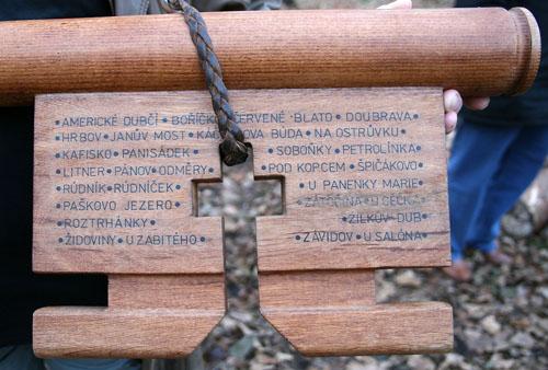 Klíč ratíškovských houbařů
