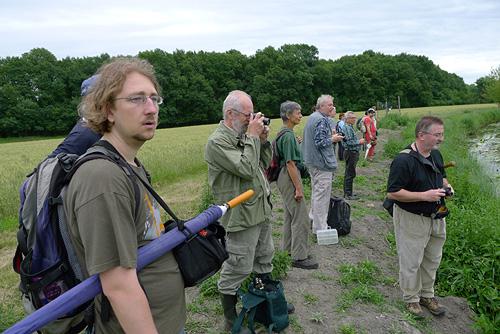 Exkurze voboře Obelisk - část účastníků