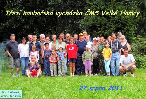 Účastníci vydařené akce - foto P. Hampl