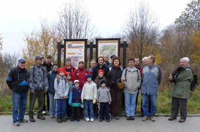 Aktéři zamykání lesa 2011 vBrně