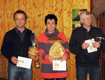 Vítězové vkategorii houby...