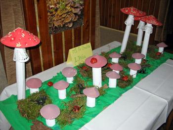Ukázky ztvorby mladých francolhotských houbaříčků...