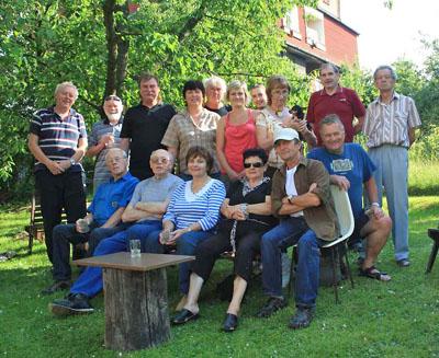 účastníci vrolích gratulantů