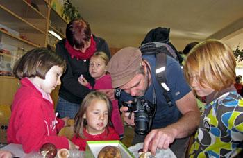 rodičovská houbařská osvěta, foto: P. Hampl