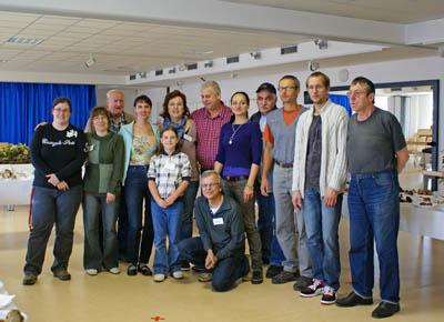 organizační tým letošní brběnské výstavy hub