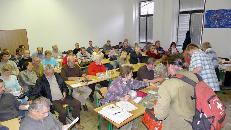 jarní cyklus přednášek ohoubách ČMS provází trvalý zájem návštěvníků