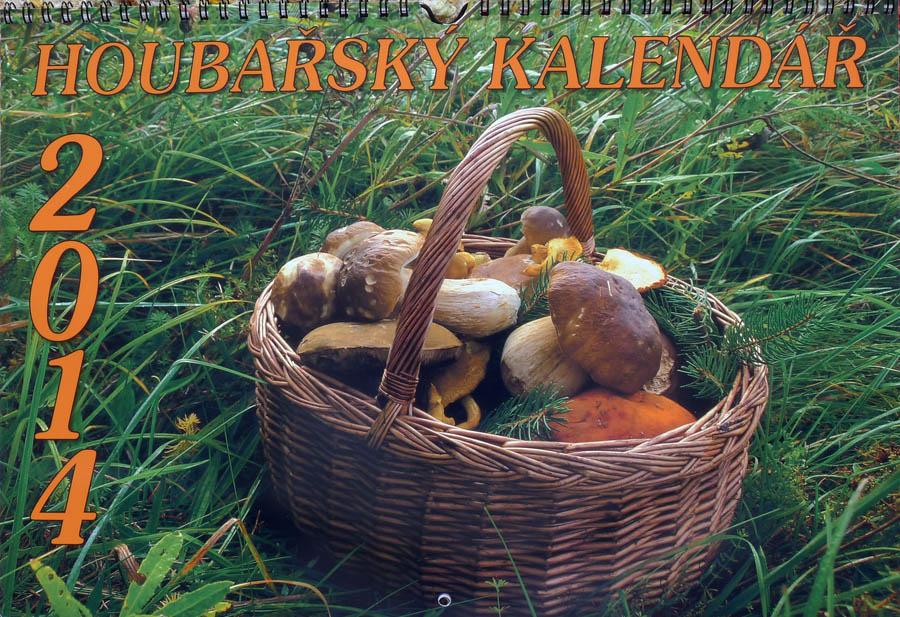 Matějkův houbařský kalendář 2014