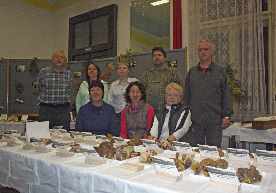 realizační tým výstavy hub vHořovicích