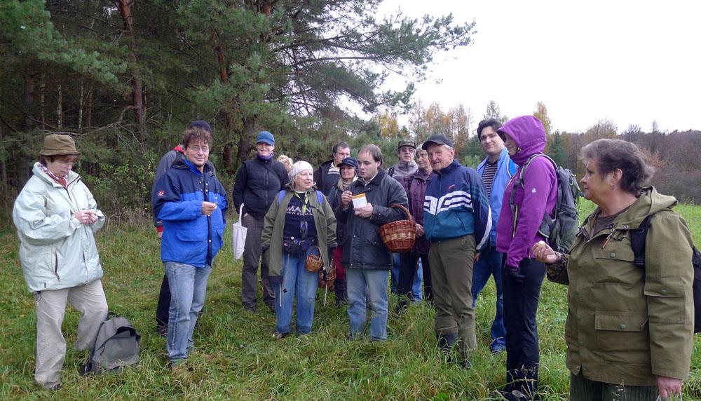 diskuze knálezům na lokalitě čirůvky zemní