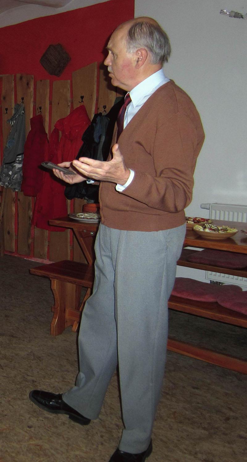 Člen MK Velké Hamry, matematik Mgr. Ladislav Dvořák