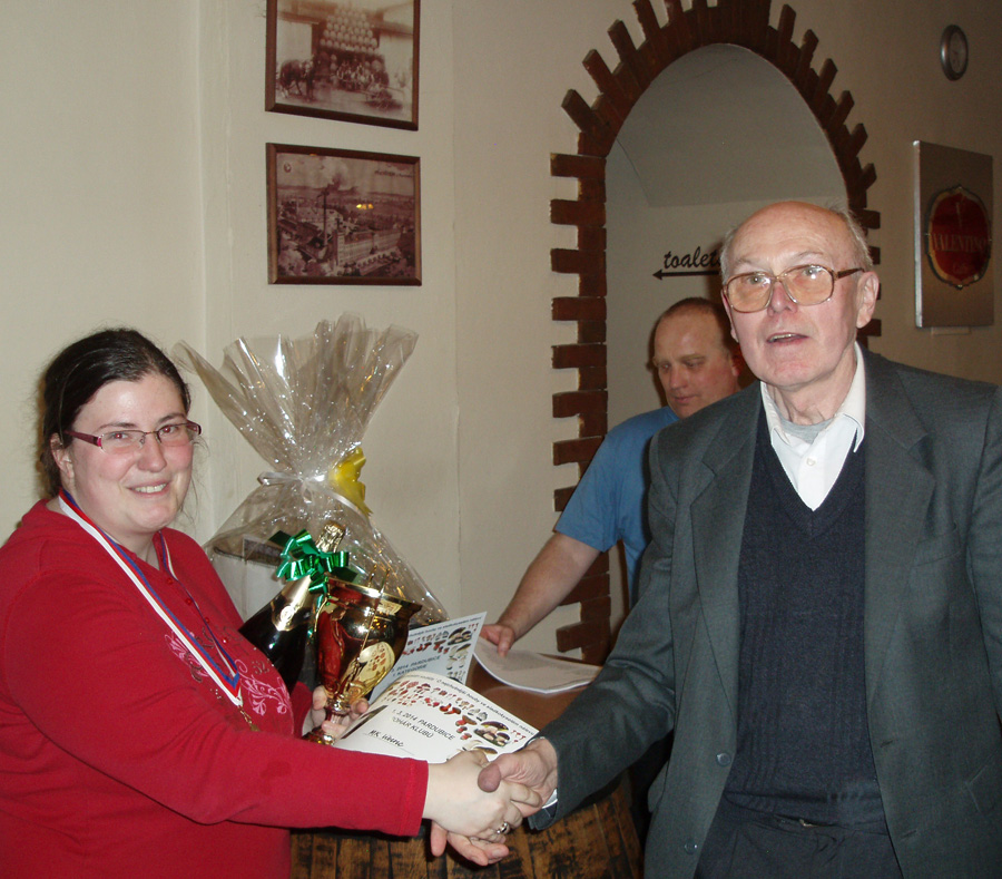 vítěz kategorie mistrů, zakladatel soutěže Josef Sedláček zMK Liberec