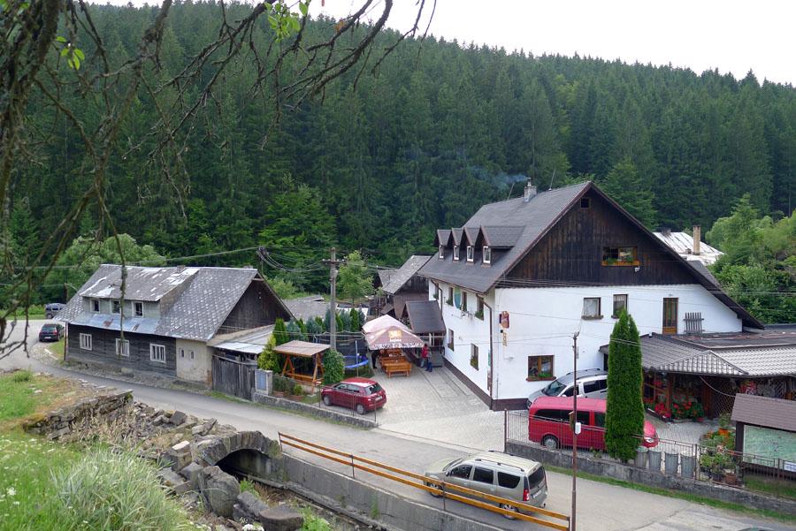 horský hotel Eva-Mária vHorní Maríkové
