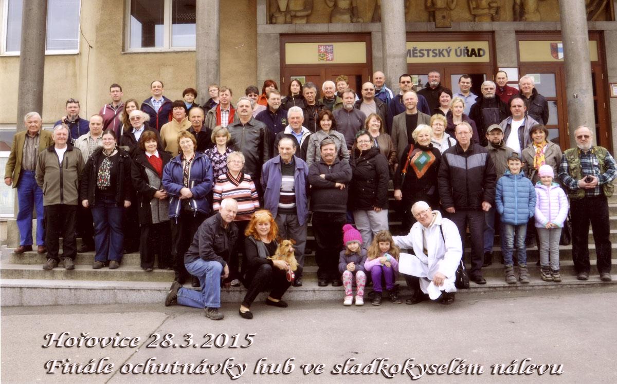 společné foto účastníků 41. ochutnávek