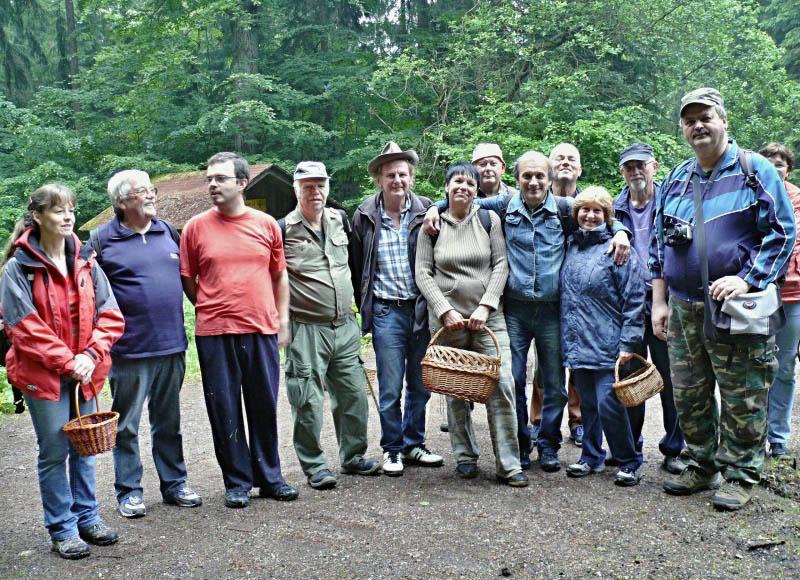 aktéři otevírání lesa sMK Úpice