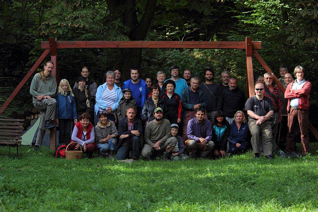 společné foto účastníků semináře - fotil Milan Němčický