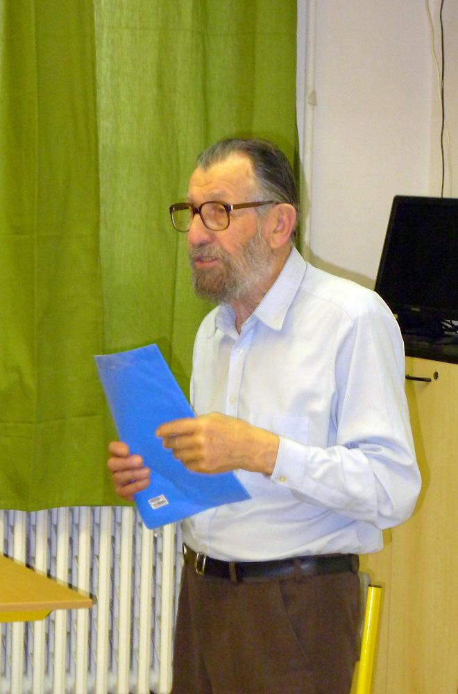 Přednášející dr. František Kotlaba