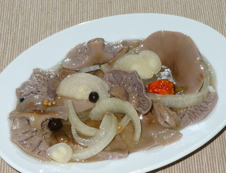 čirůvky fialové jako svěží houbový salát - foto: AV