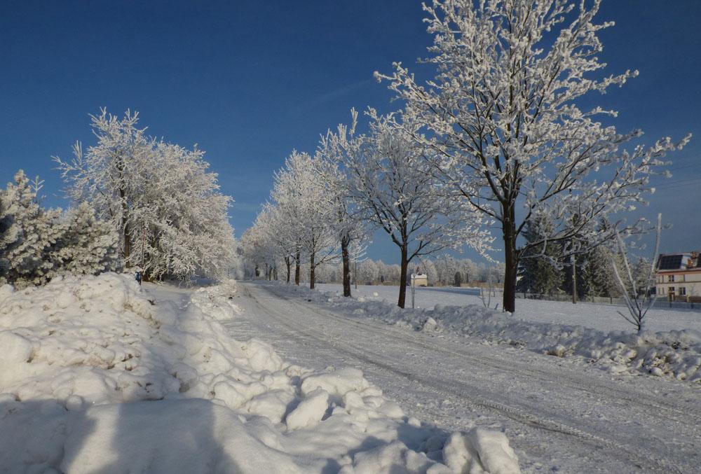 a je tu zima - foto: Jiří Vondrouš