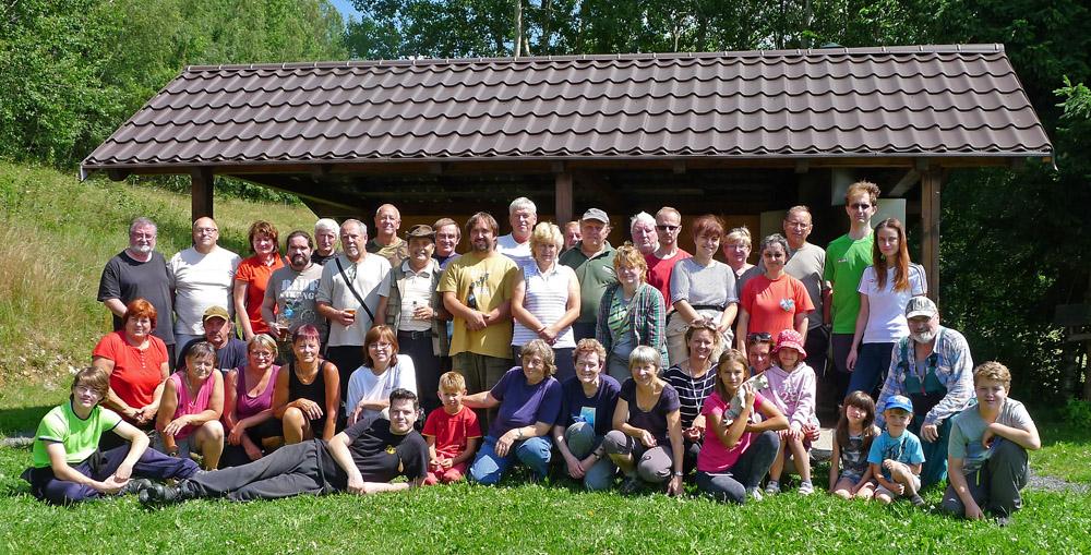 účastníci vydařené sobotní akce