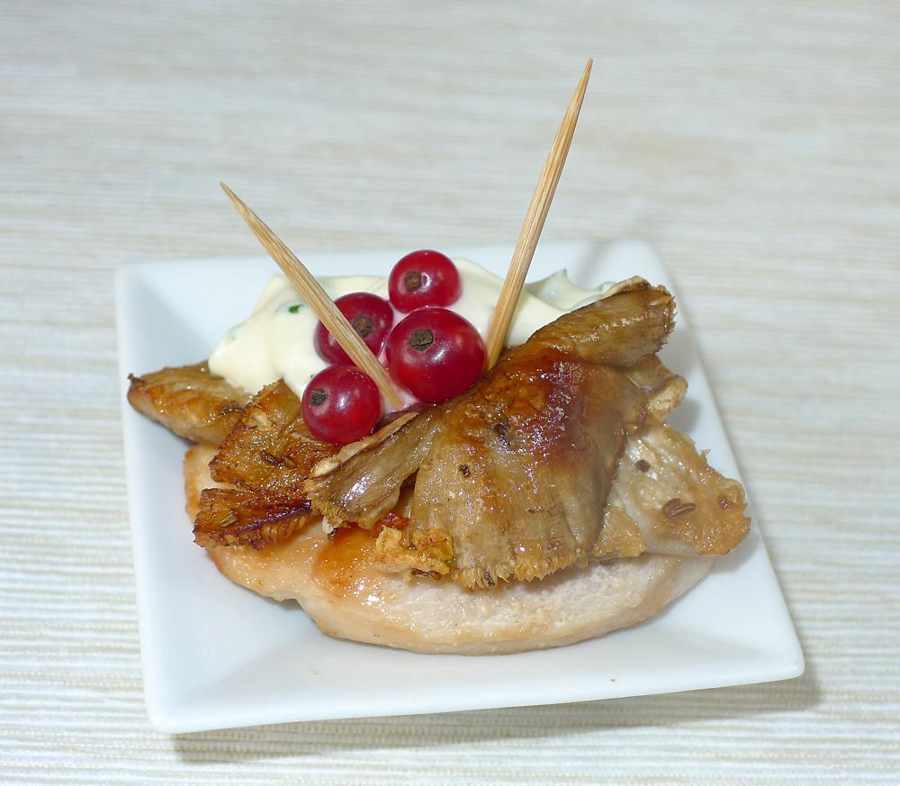 houbohubka zrůžovek na kuřecí podložce - foto: Aleš Vít