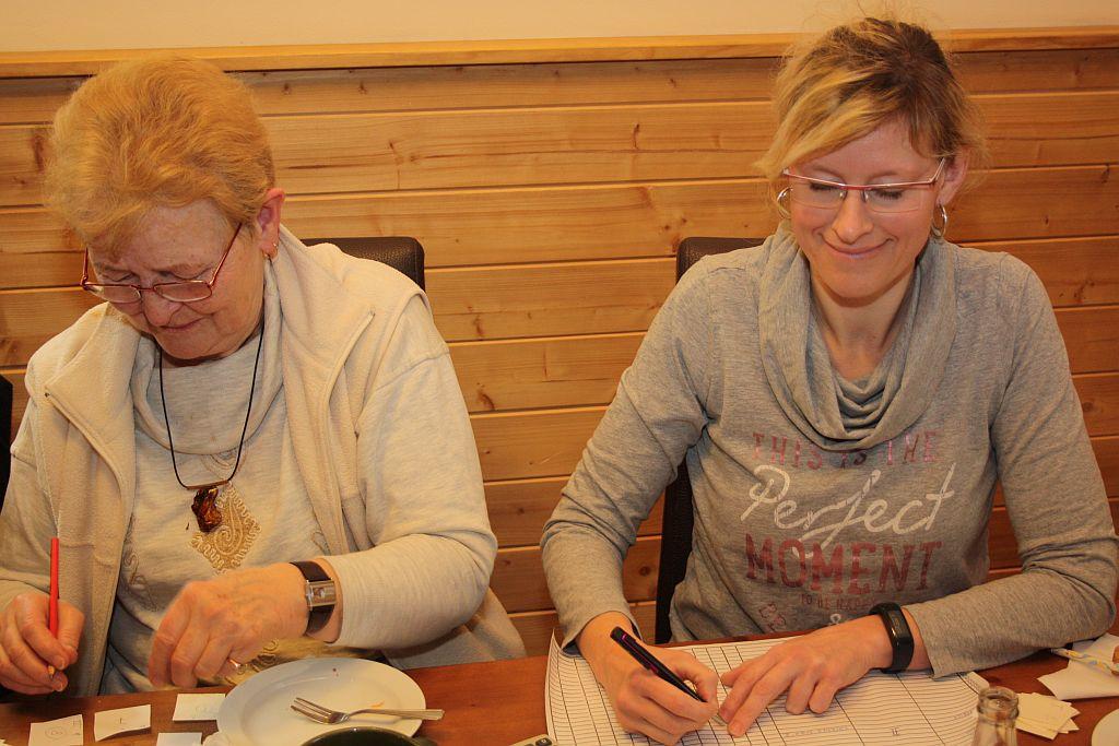 sčítací komise ve složení Jana + Jana