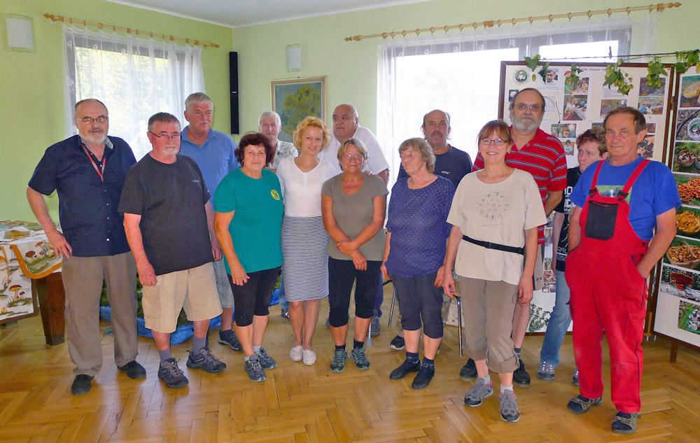 úspěch pořadatelům dalších podzimních houbařských výstav 2018 přejí přátelé zVelkých Hamrů