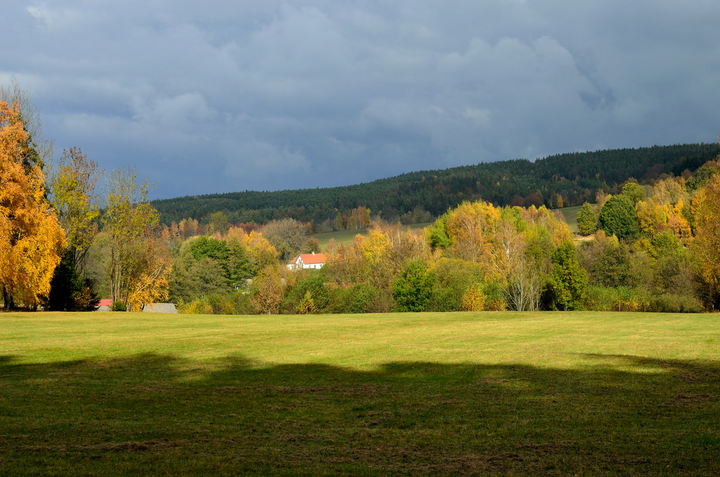 podzim vNovohradských horách - foto: Karolína Turnovcová