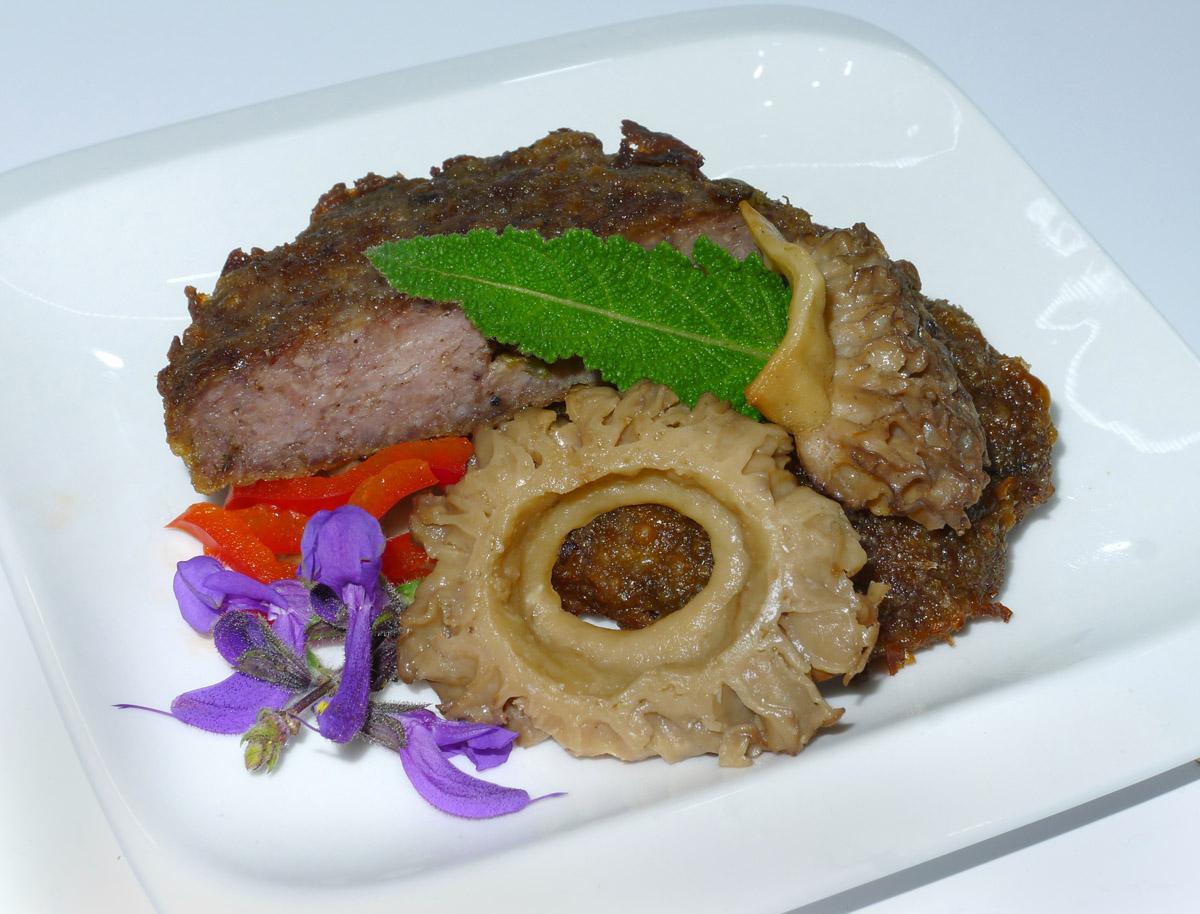 smrže asekané hovězí biftečky na šalvěji - foto: Aleš Vít