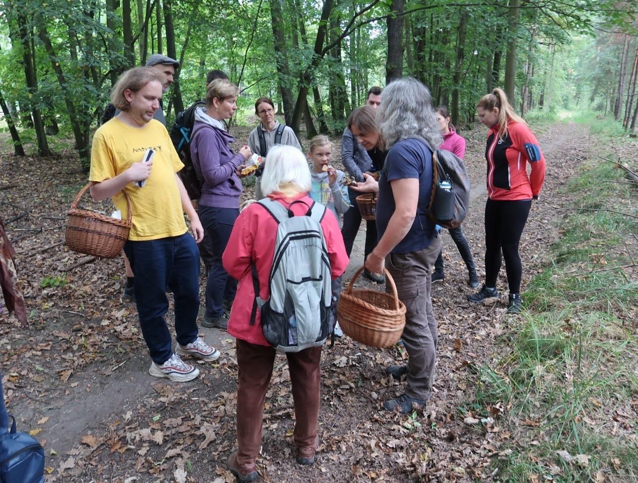 první zastávka (po 20 metrech vlese) - foto: Markéta Vlčková