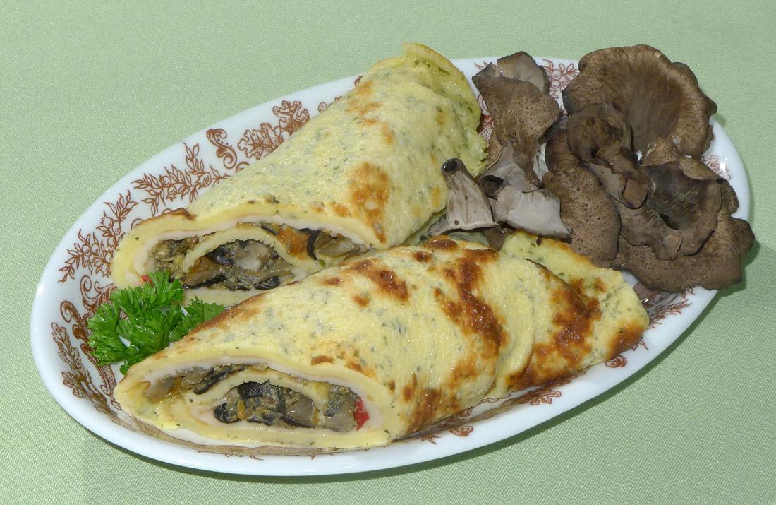 omeleta se stročky - foto: Aleš Vít